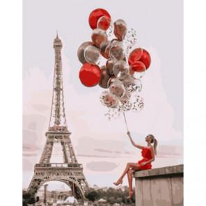 Праздник в Париже Раскраска картина по номерам на холсте