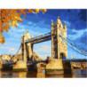 Осень в Лондоне Раскраска картина по номерам на холсте