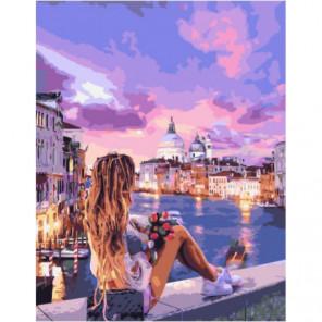 Венецианский бриз Раскраска картина по номерам на холсте