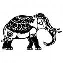 Индийский слон Трафарет-силуэт Marabu ( Марабу )