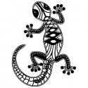 Ящерица Трафарет-силуэт Marabu ( Марабу )