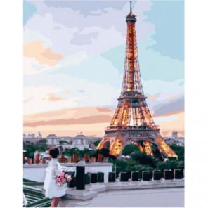 Французская мечта Раскраска картина по номерам на холсте