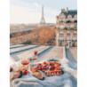 Завтрак на крыше Раскраска картина по номерам на холсте