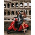 Итальянские канинкулы Раскраска картина по номерам на холсте