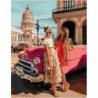С подругой на Кубе Раскраска картина по номерам на холсте