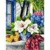 Мамины цветы Раскраска картина по номерам на холсте