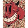 Diablo rojo 80х100 Раскраска картина по номерам на холсте