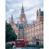 Величественный Лондон Раскраска картина по номерам на холсте