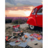 Пикник в Провансе Раскраска картина по номерам на холсте