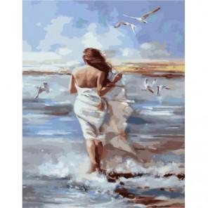 Бегом по воде Раскраска картина по номерам на холсте