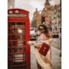 Прохладный Лондон Раскраска картина по номерам на холсте