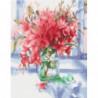 Нежность лилий Раскраска картина по номерам на холсте