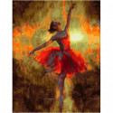 Дебют балерины Раскраска картина по номерам на холсте