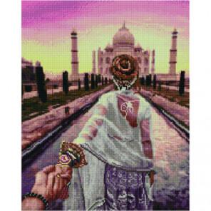 Следуй за мной. Индия Алмазная мозаика вышивка Painting Diamond