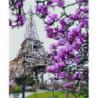 Весна в Париже Алмазная мозаика вышивка Painting Diamond