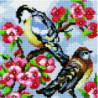 Весенние синицы Алмазная мозаика вышивка Painting Diamond