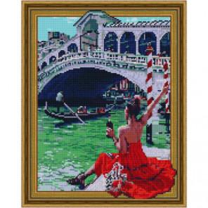 Отдых в Венеции Алмазная мозаика вышивка Painting Diamond