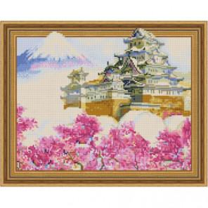 Замок Химедзи Алмазная мозаика вышивка Painting Diamond
