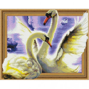 Танец лебедей Алмазная мозаика вышивка Painting Diamond