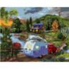 Дальняя поездка Раскраска картина по номерам на холсте