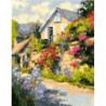 Загородный домик Раскраска картина по номерам на холсте