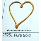 25251 Металлик чистое золото Краска по ткани Fashion Dimensional Fabric Paint Plaid