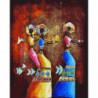 Африканские танцы Раint Воу Раскраска картина по номерам на холсте