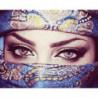 Взгляд восточной красавицы Раint Воу Раскраска картина по номерам на холсте