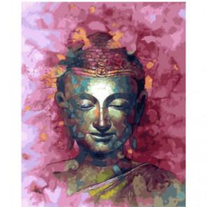 Будда Раскраска картина по номерам на холсте