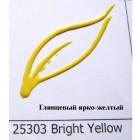 25303 Глянцевый ярко-желтый Краска по ткани Fashion Dimensional Fabric Paint Plaid Батик