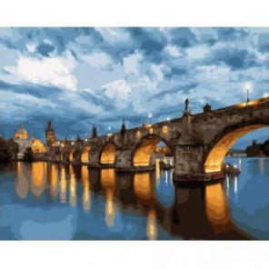 Прага. Карлов мост Раскраска картина по номерам на холсте