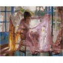 Палантин Раскраска картина по номерам на холсте