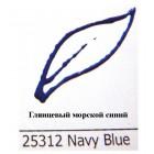 25312 Глянцевый морской синий Краска по ткани Fashion Dimensional Fabric Paint Plaid