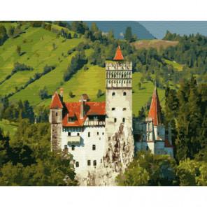 Замок Дракулы Раскраска картина по номерам на холсте