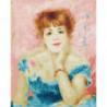 Ампирная девушка Раскраска картина по номерам на холсте