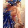 Бразильянка Раint Воу Раскраска картина по номерам на холсте