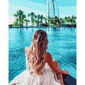 Следуй за мной. Дубай Раскраска картина по номерам на холсте