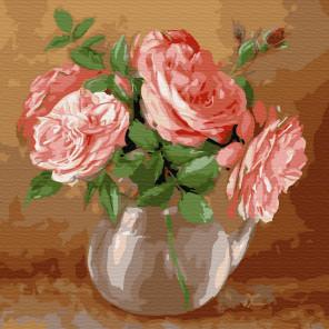Бузин. Случайный букет Раскраска картина по номерам на холсте KH0436