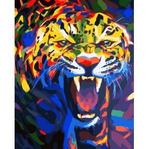 Зов джунглей Раскраска картина по номерам на холсте CG483