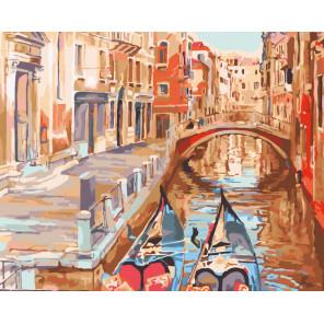 Очарование Венеции Раскраска картина по номерам на холсте CG460