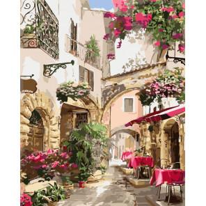 Романтика Европы Раскраска картина по номерам на холсте CG464