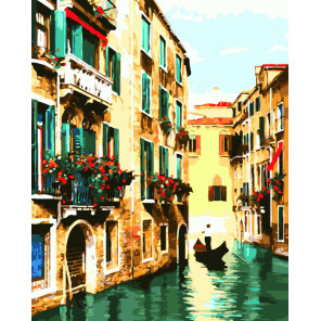 Венецианское умиротворение Раскраска картина по номерам на холсте CG465