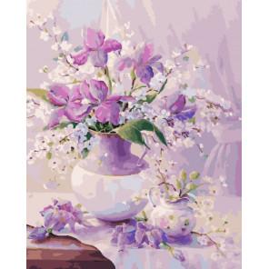 Легкость весны Раскраска картина по номерам на холсте CG471