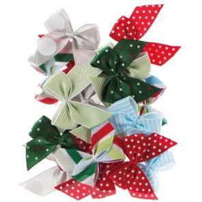 Spots & Stripes Festive Бантики Украшения для скрапбукинга, кардмейкинга Docrafts