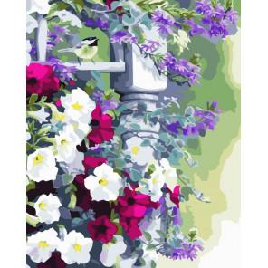 Летнее разнотравие Раскраска картина по номерам на холсте CG476