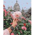 Благоухание роз Раскраска картина по номерам на холсте PK51071