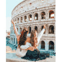 В Рим с лучшей подругой Раскраска картина по номерам на холсте PK51070