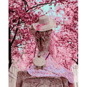 Весенняя прогулка Раскраска картина по номерам на холсте PK51059