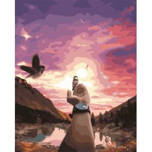 Гармония с природой Раскраска картина по номерам на холсте PK51052
