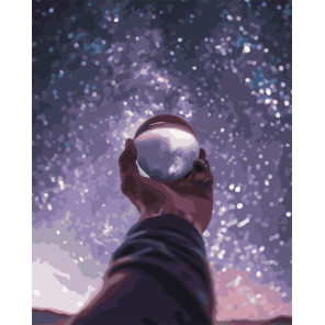 Очарование звездного неба Раскраска картина по номерам на холсте PK51050